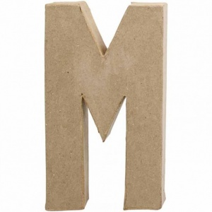 Stickytiger 3d Paper Mache Letters 20 5cm Tall