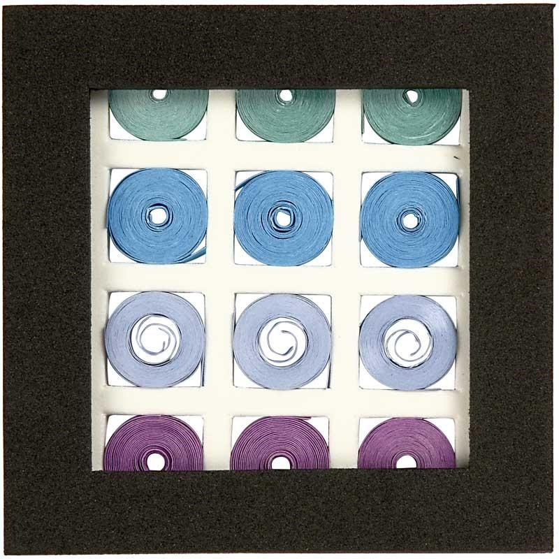 Stickytiger Square Quilling Set Blue Green Harmony