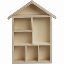 House Shaped Shelving System