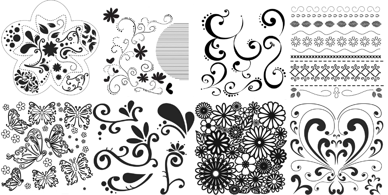 stickytiger the crafter s workshops template stencils