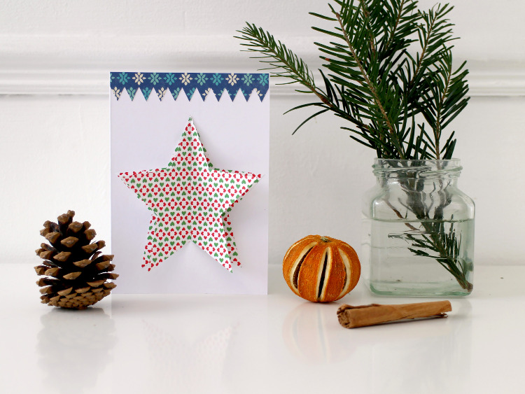 easy 3d star christmas card and festive ornaments - How To Make 3d Christmas Decorations