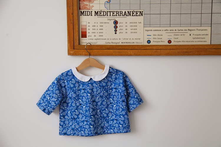 A blouse made by Artemis for her daughter
