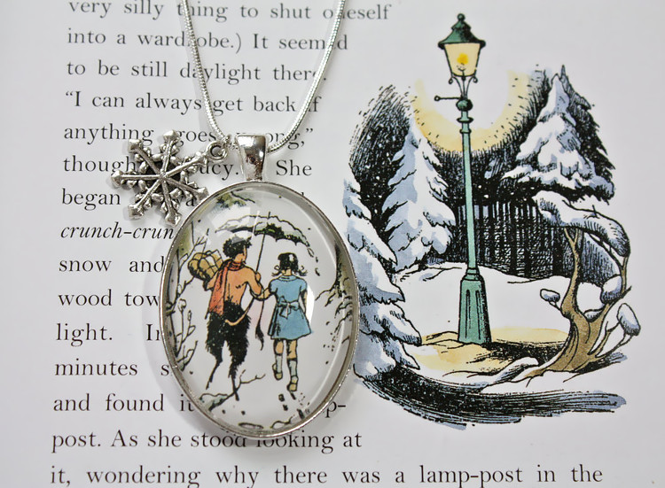 Necklaces made from book pages
