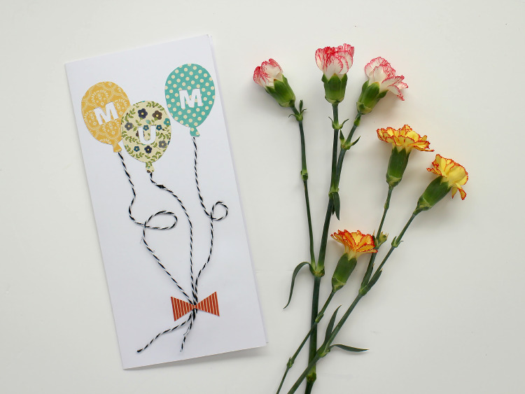 Easy DIY Mother's Day Card