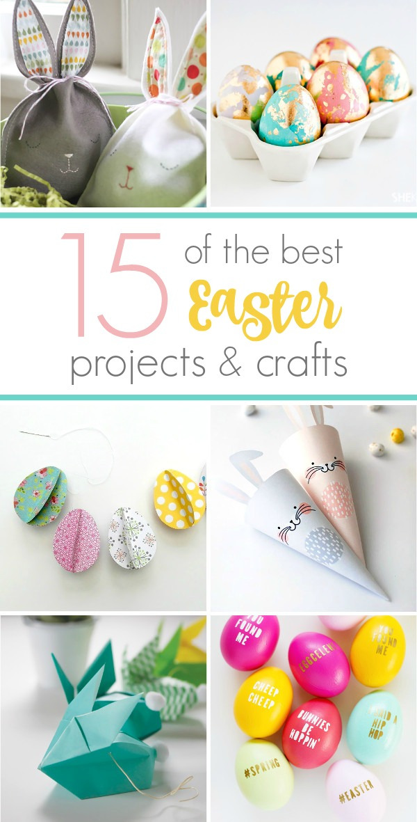 Fifteen of the best crafts for Easter