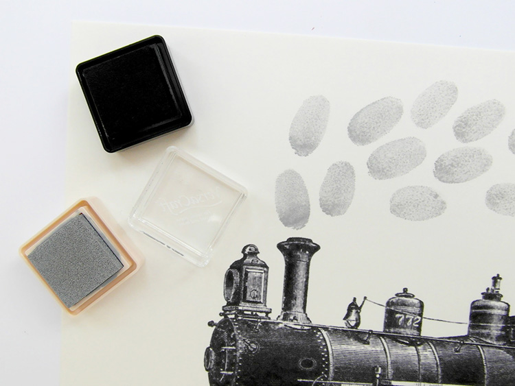 Fingerprint steam train