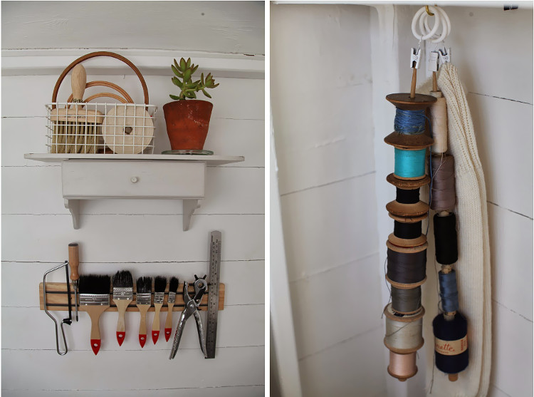 Creative storage in Artemis' shed