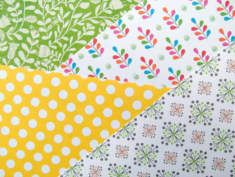 New scrapbooking papers