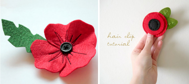 StickyTiger | Lest we Forget: Remembrance Day Poppy Crafts
