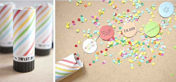 Save the Date Confetti Shooter