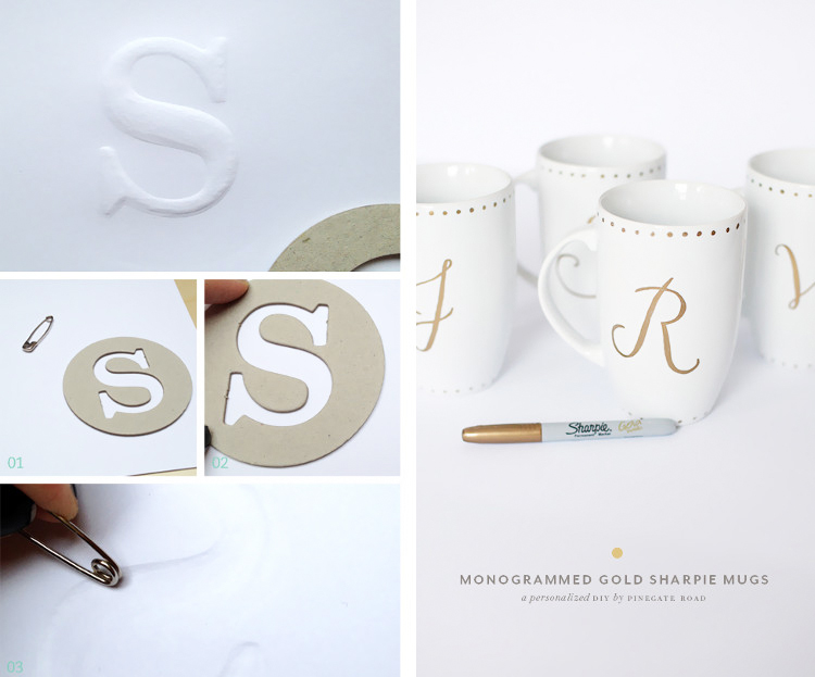 Monogram Crafts from How to Craft and Pinegate Road