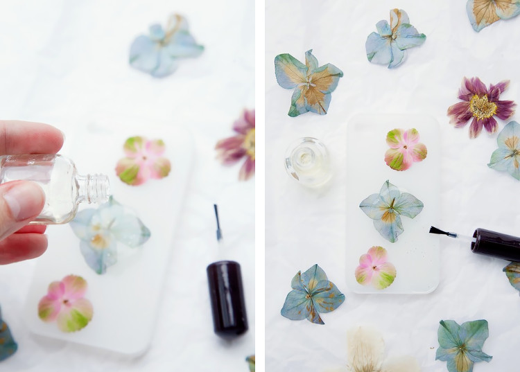 Capture By Lucy's beautiful pressed flower phone case