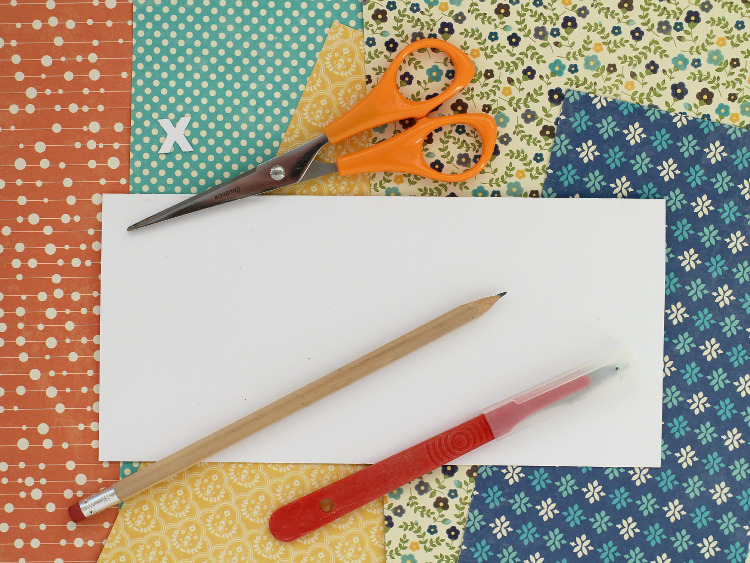 Choosing printed scrapbook papers