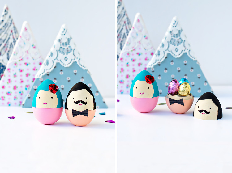 Egg couple by Say Yes