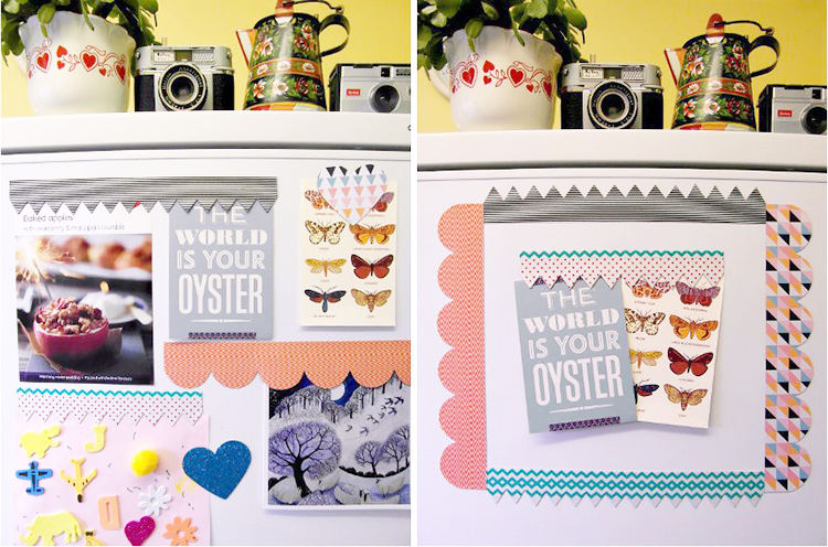 DIY: Patterned and Printed Fridge Magnets