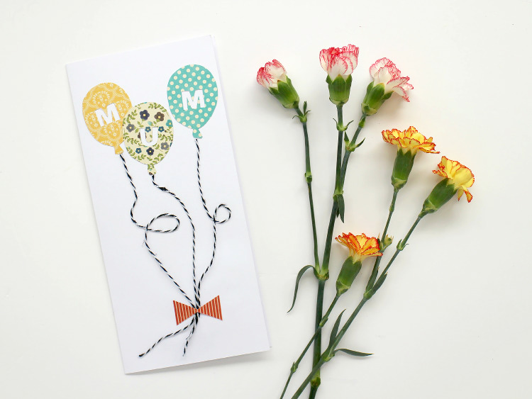 Super Easy DIY Mother's Day Card