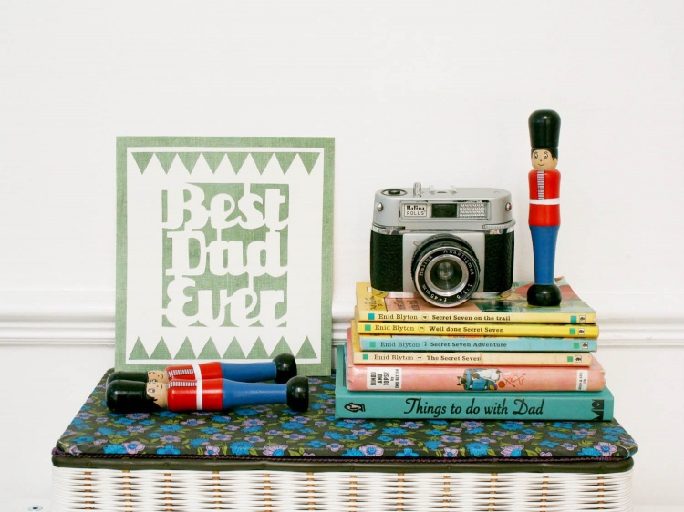 Super Simple Papercut Father's Day Cards