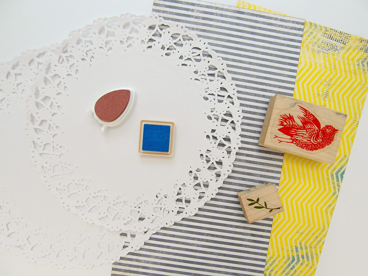 Top Tips for Stamping onto Paper