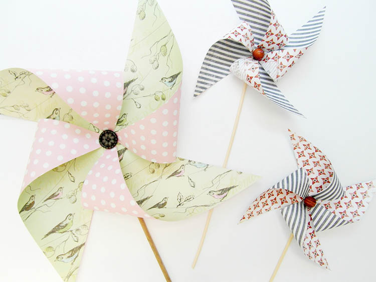 The Summer Decor Series: Pretty Pinwheels