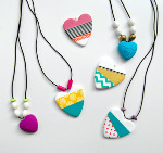 Bright and Cheerful Heart Accessories
