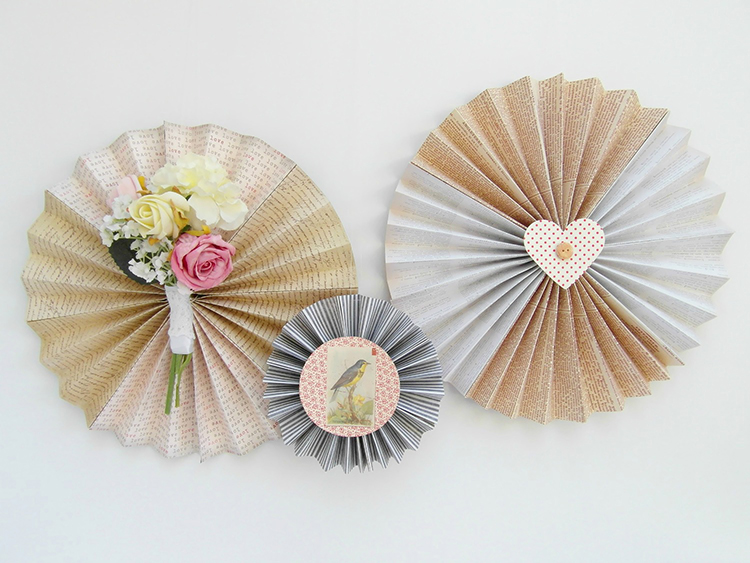 The StickyTiger Summer Decor Series: Simple Fanwheels