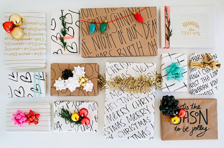 DIY Wrapping Paper Round-Up