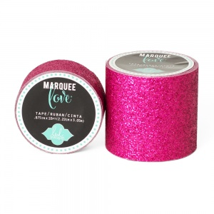 Marquee Love Glitter Tape, Pink