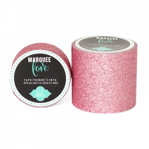 Marquee Love Glitter Tape, Pale Pink