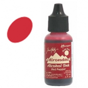 Red Pepper Adirondack Alcohol Ink, 15ml, by Tim Holtz