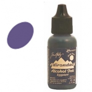 Eggplant Adirondack Alcohol Ink, 15ml, by Tim Holtz