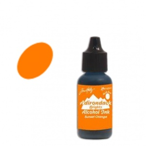 Sunset Orange Tim Holtz Adirondack Alcohol Ink, 15ml