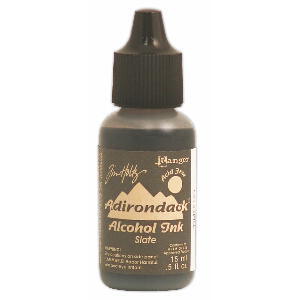 Slate Adirondack Alcohol Ink, 15ml, by Tim Holtz