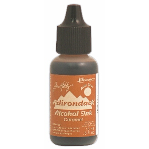 Caramel Adirondack Alcohol Ink, 15ml, by Tim Holtz
