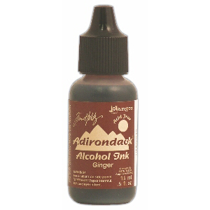Ginger Adirondack Alcohol Ink, 15ml, by Tim Holtz