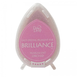 Pearlescent Orchid Brilliance Dew Drop Ink Pad