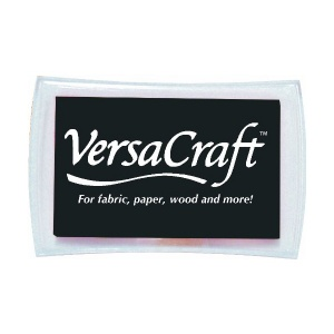 Real Black Versacraft Large Ink Pad
