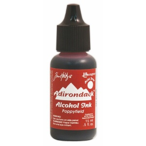 Poppyfield Adirondack Alcohol Ink, 15ml, by Tim Holtz