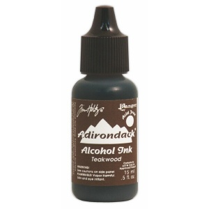 Teakwood Adirondack Alcohol Ink, 15ml, by Tim Holtz