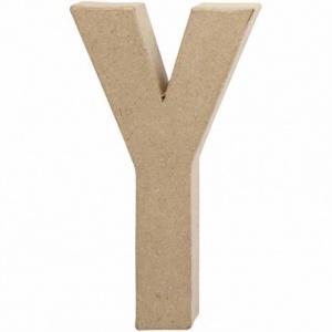 3D Paper Mache Letters, 20 5cm tall