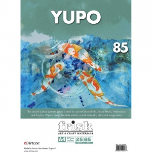 Yupo Paper Pack of 25 sheets, A4 size