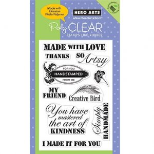 So Artsy Clear Stamp Set