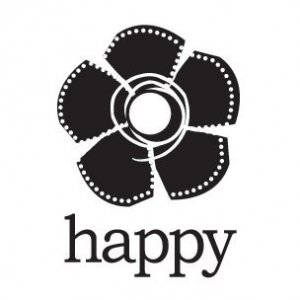 Happy Flower Mini Cling Stamp