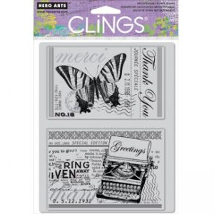 Greetings 2 Hero Arts Stamp Set (CG414)