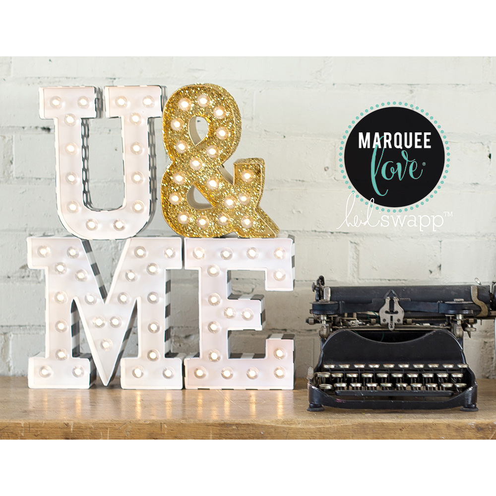 marquee love letter broadway light kits