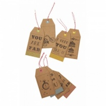 Fab Designs Kraft Tags by The Wrapping Room (8)