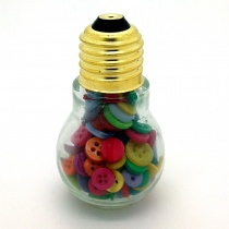 Light Bulb of Bright Buttons