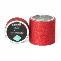 Marquee Love Glitter Tape, Red
