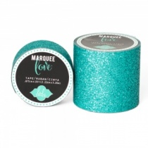 Marquee Love Glitter Tape, Teal