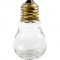 Light bulb Shaped Jar