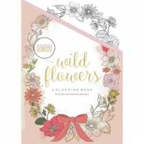 The Wild Flowers Colouring Book